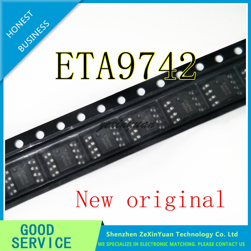 5PCS ETA9742 9742 SOP-8 New Original Synchronous Rectification IC Mobile Power Supply Five In One Chip