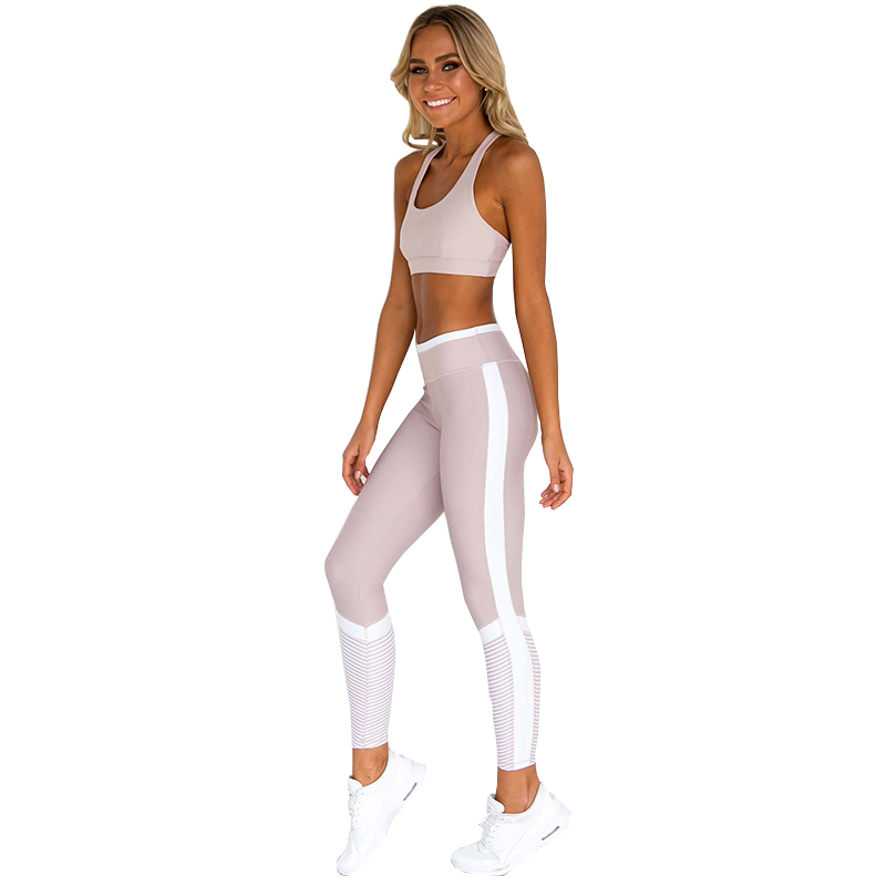 Fitness Sport Suits Women 39 s Yoga Clothing Set Sexy Workout Sportswear Female Tracksuits Casual Running Clothes Clothing in Yoga Sets from Sports amp Entertainment
