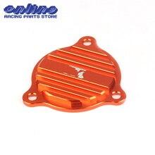 CNC Заготовка Крышка масляного насоса для KTM SXF XCF XCFW XCW EXCF 250 350 450 500 530 Байк мотокросс эндуро по бездорожью