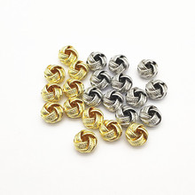 Earring Handmade Component Jewelry-Findings Spacer-Beads/connectors for Diy-Parts