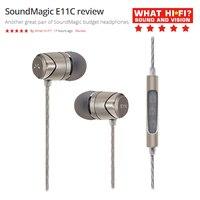 SoundMAGIC E11C Kopfhörer Wired Ear in-Ohr Ohrhörer Leistungsstarke Bass HiFi Stereo Sport kopfhörer mit Mikrofon