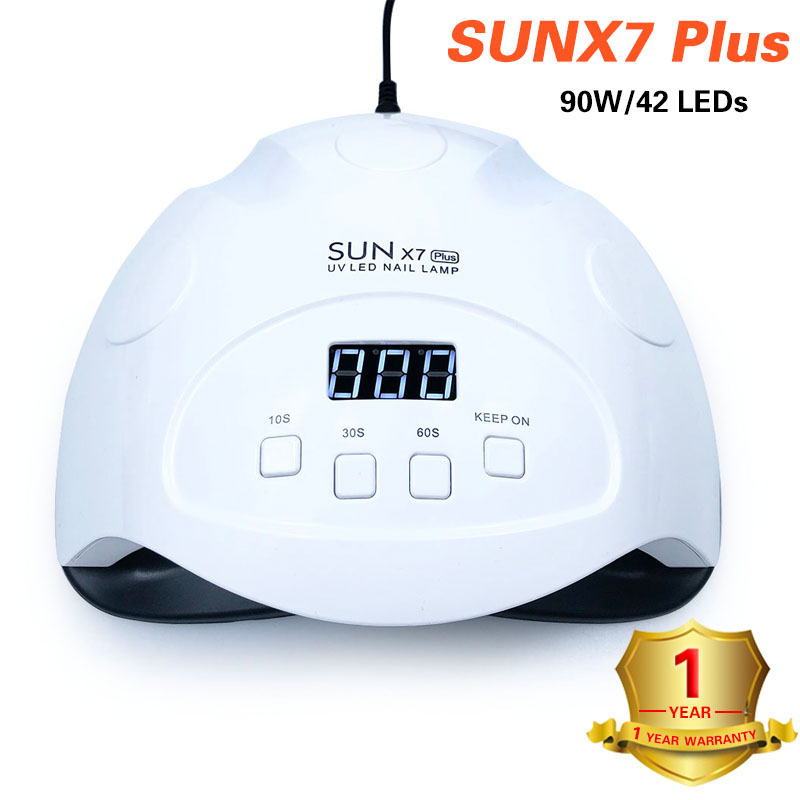 SUNX 54W/86W LED Nail Dryer Nail Lamp For Curing Nail Gel Polish Manicure 10s/30s/60s/99s Auto Sensor Machine Nail Art Tools image
