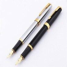 Роскошный качественный Baoer 388 школьные Бизнес офис Средний Перьевая ручка канцелярские принадлежности новый