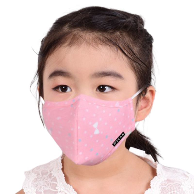 Children Cartoon PM2.5 Mouth Mask Anti Dust Winter Warm Respirator With Valve