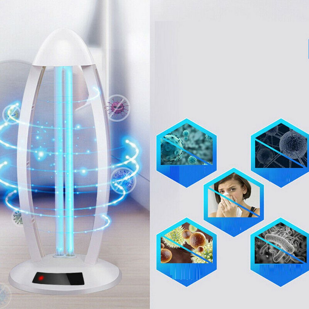 38W High Ozone UV Disinfection Lamp 110V 220V Household Ultraviolet Lamps UVC Germicidal Light Sterilizing Lights