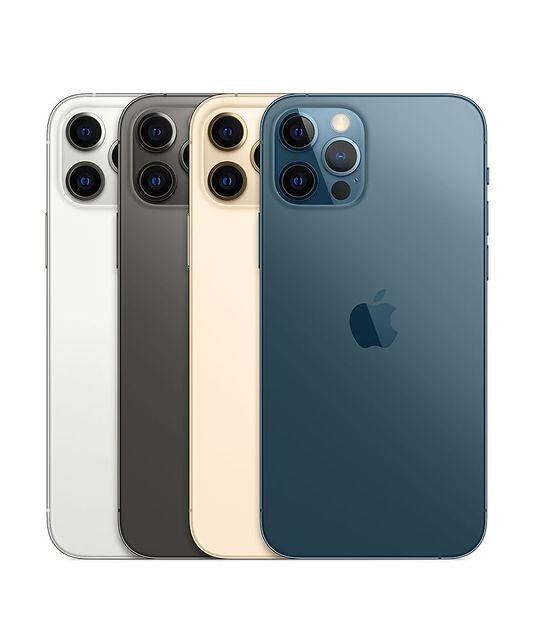 100% Original Apple iPhone 12 Pro Max 6GB ROM 128/256/512GB IOS A2342 A14 Bionic Face ID NFC Unlocked 5G iPhone 12PROMAX USED 2