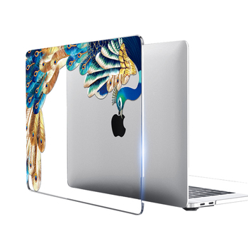 Crystal Feather Hard Colored Case for MacBook 1
