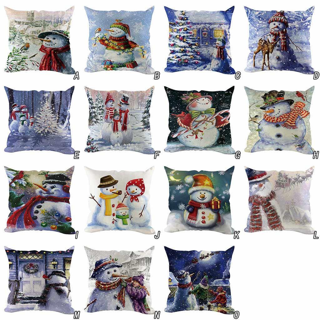 وسادة غطاء 2020 جديد ماركة كيس وسادة Housse دي koosin عيد الميلاد أريكة الزخرفية ديكور المنزل غطاء الوسادة Cojines