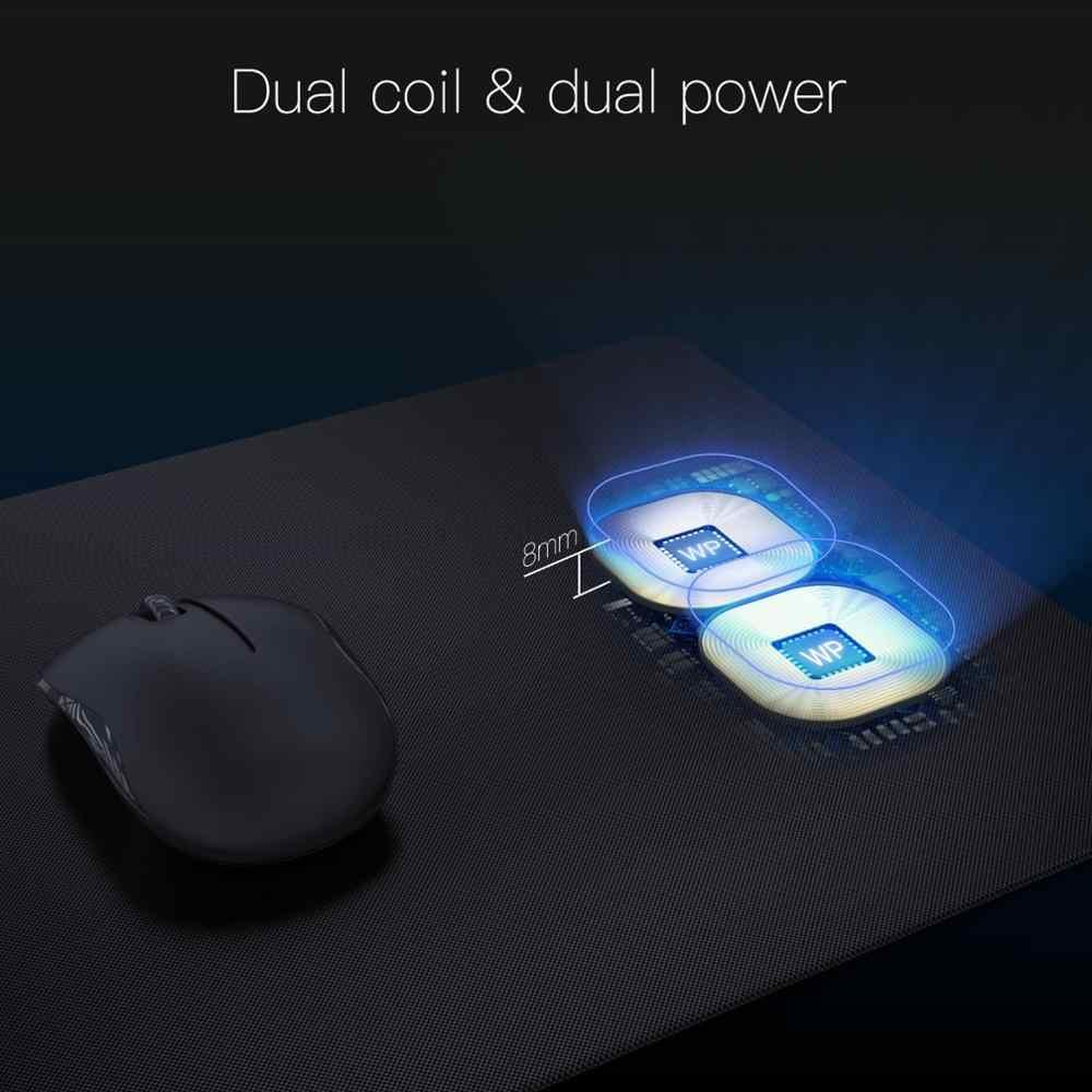 JAKCOM MC2 עכבר אלחוטי Pad מטען חדש הגעה כמו pad טלפון מטען אלחוטי כפול עכבר נטענת מאוורר