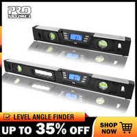Inclinomètre de niveau numérique électronique PROSTORMER détecteur d'angle rapporteur écran LCD 40 cm/60 cm avec aimants Nivel niveau numérique