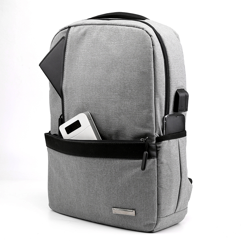 Litthing Slim Laptop Backpack Men Office Work Men Backpack Business Bag Unisex Black Ultralight Backpack Thin Back Pack