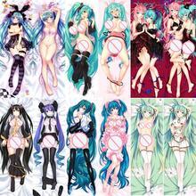Cover Pillow-Case Dakimakura Miku Hatsune Waifu Hentai OTAKU 160x50cm Anime Manga-Girl
