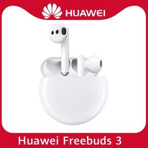 Huawei Freebuds 3 беспроводные Bluetooth 5,1 наушники TWS Kirin A1 чип низкочастотный Handset ANC наушники для P40 Pro P30 Mate 30
