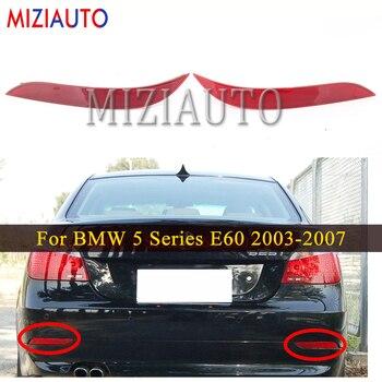 цена на MIZIAUTO Rear Bumper Light For BMW 5 Series E60 2003-2007 Tail Stop Brake Warning Light Rear Fog Reflector Lamp Car assembly