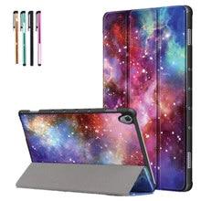 Capa de tablet para huawei mediapad m6 10.8 2019, capa dobrável inteligente, suporte para huawei m6 10.8