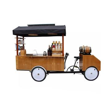 Konfigurowalny elektryczny rower dostawczy Street Vending rower trzykołowy dla dorosłych Moblie Drink Bubble Tea Coffee Van Cafe Cart na sprzedaż tanie i dobre opinie Liuben 500 w CN (pochodzenie) Zagnieść ciasto Cargo Bike Blokowanie pokrywą Ice Cream Electric Tricycle STAINLESS STEEL
