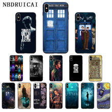 NBDRUICAI Tardis Box Doctor Who High Quality Phone Case for iPhone 11 pro XS MAX 8 7 6 6S Plus X 5 5S SE XR case(China)