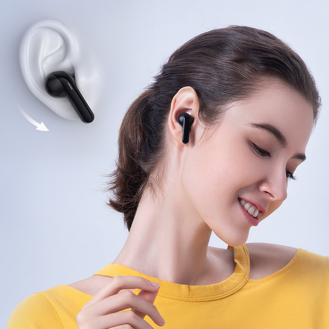 DSP Noise Reduction Haylou GT3 Bluetooth 5.0 Earphones,28hours Music Time Smart Touch Control Wireless Game Headphones 4