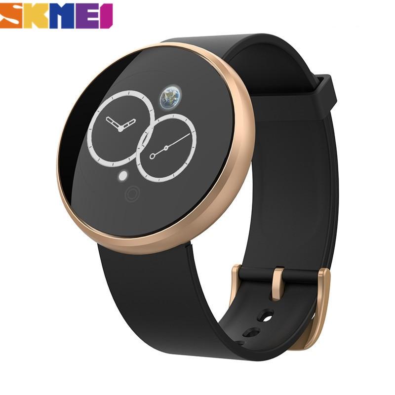 Reloj Digital deportivo SKMEI para hombre, Reloj de pulsera con Bluetooth, con ritmo cardíaco, resistente al agua, con seguimiento de calorías, GPS, Reloj de pulsera, Reloj B36M