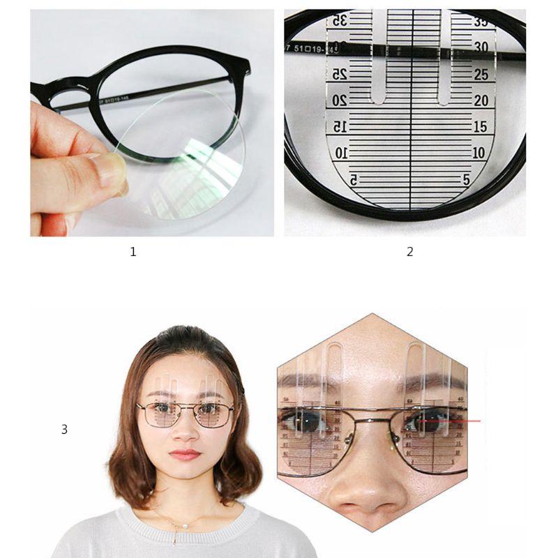 1 Pair Optical PH Ruler Pupil Height Meter Optometry PH Test Eye Ophthalmic Tool