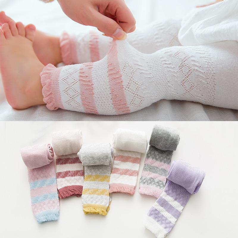 Spring  Autumn Cotton Newborn Baby Pantyhose Fashion Warm Soft Leggings Boy Girl Kids Toddler Printing Long Pants