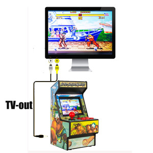 """Image 2 - Gamepad Portable Retro Mini Arcade Handheld Game Console Machine Player 16 Bit Built in 156 Classic TV Output With 2.8"""" Screen"""