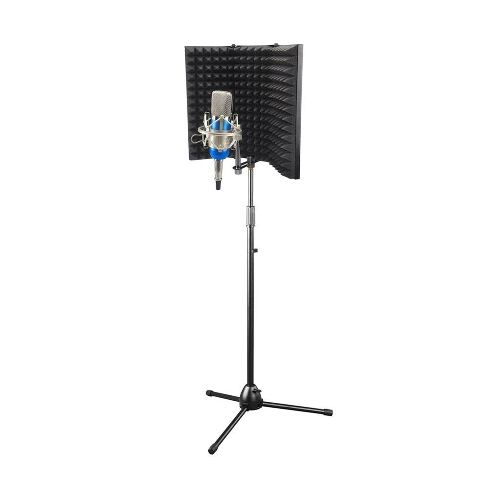 New Recording Studio Wind Screen Microphone Windshield Microphone Soundproof Screen Sound Noise Cover Noise Prevention System