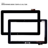 Para asus transformador livro T200TA-C1-BL t200 painel digitador da tela de toque sensor vidro ferramentas gratuitas