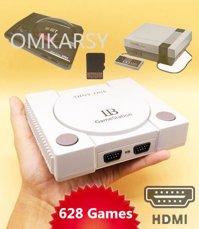 HDMI Mini Retro TV Video Game Console With TF Card Slot For Nes For Sega Megadrive With 648 Different Games