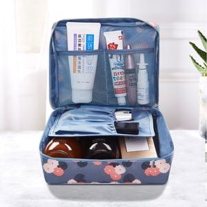 Women Purse Handbag Organizer Cute Make up Bags Brand Makeup Brush Toiletry Hand Bag men Cosmetic Cases Travel Beautician Pouch(China)