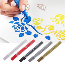 Acrylic Paint Markers Pen, Waterproof Art Permanent Paint Pens for Painting on Rock Canvas Fabric Metal Wood Ceramic DIY Craft(China)
