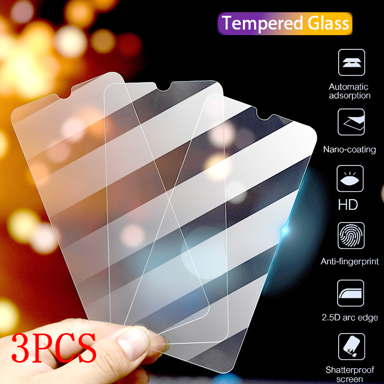 10PCS Full Cover Glass On The For  IPhone 2020 SE X XS Max XR  7 8 6 6s Plus 11 Pro Tempered Glass For  Samsung A50-A60-A70