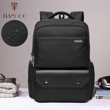 TIANHOO High quality Business Backpack Men's Casual Large Capacity Travel School Bag Waterproof Computer Backpacks(China)