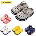 Детские мягкие тапки из ЭВА  домашняя обувь на плоской подошве для маленьких девочек  пляжные шлепанцы для маленьких мальчиков  Детские заб...
