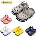 Enfants EVA doux pantoufles bébé fille intérieur maison chaussures plates enfant en bas âge garçon plage eau tongs enfants drôle en plein air jardin sandales