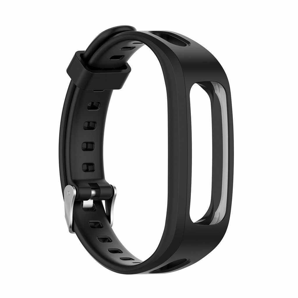 ベストセラー 2019 製品シリコーン交換時計バンドリストストラップ Huawei 社バンド 4e/名誉 4 ランニングサポートドロップシッピング