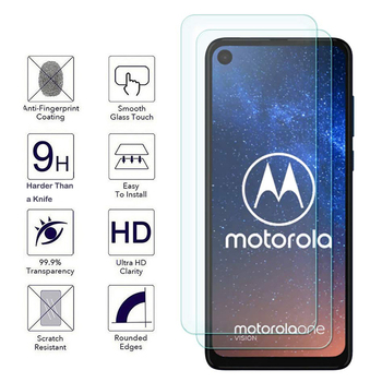 2PCS 9H HD Tempered Glass For Motorola Moto G8 E6 G E6s Power Lite Plus Pro Stylus Screen Protector For One Action Vision Fusion for motorola one fusion plus case shockproof armor rubber hard pc case for moto one fusion plus cover for moto one fusion plus