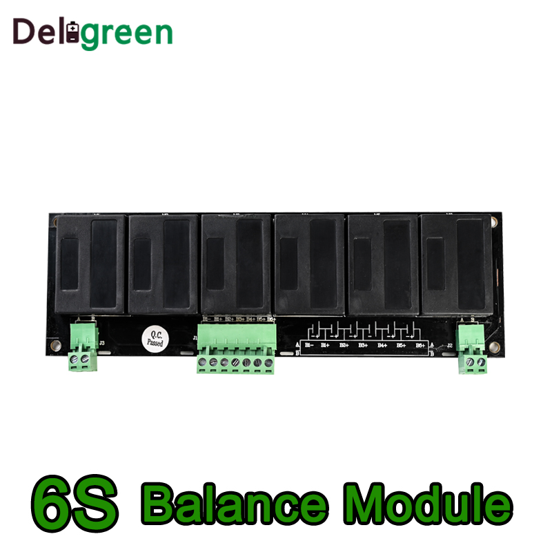 QNBBM 6S Active Battery Equalizer BMS Balancer for LIFEPO4,LTO,Polymer ,LMO,LI NCM LI-ion Battery 18650 DIY Pack