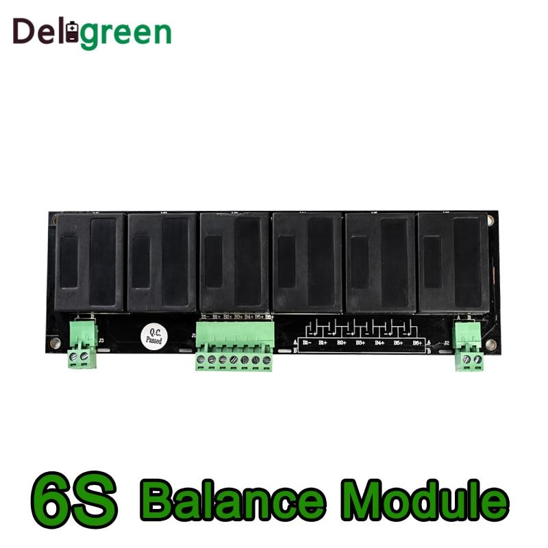 QNBBM 6S Active Battery Equalizer BMS Balancer For LIFEPO4,LTO,Polymer ,LMO,LI NCM LI-ion Battery 18650 DIY Pack
