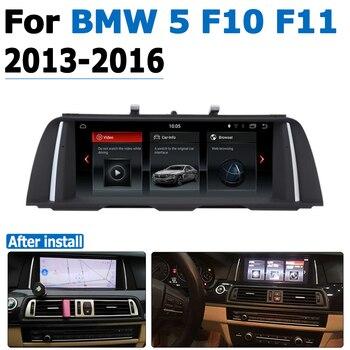 Car DVD Player For BMW 5 Series F10 F11 2013 2014 2015 2016 original NBT System Android Autoradio GPS Navigation