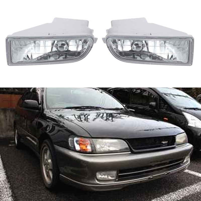 Front Bumper Fog Lights W Bulb For Toyota Corolla AE100 AE101 93-97 A1649060451