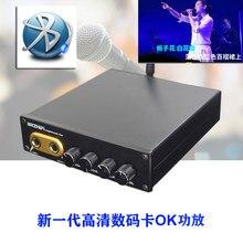 Qingfeng OF1 TPA3250 HD Karaoke Dual 130W de potencia amplificador Bluetooth 5,0