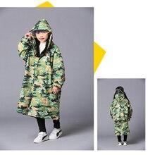 Nylon Raincoat Kids Girls Waterproof Children Coat Rain Poncho Cover Women Impermeable Ladies Coats