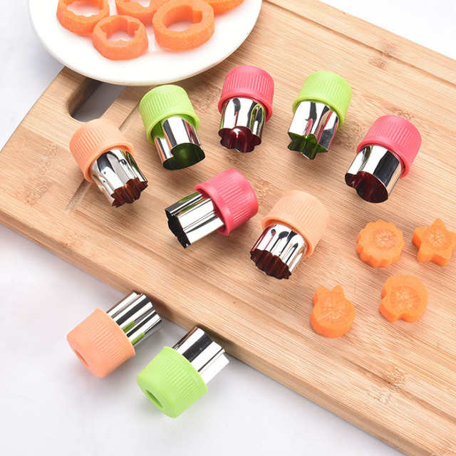 3Pcs/set Stainless Steel Cutters Kitchen Gadgets Fruit Cutting Vegetables Cutter