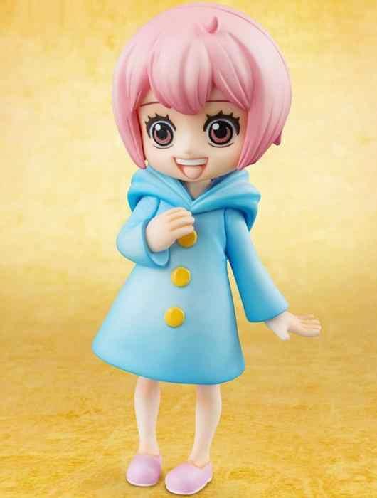 Gravidade Anime Brinquedo Kit Garagem One Piece Infância Rebecca Ornamentos Modelo Kit Garagem
