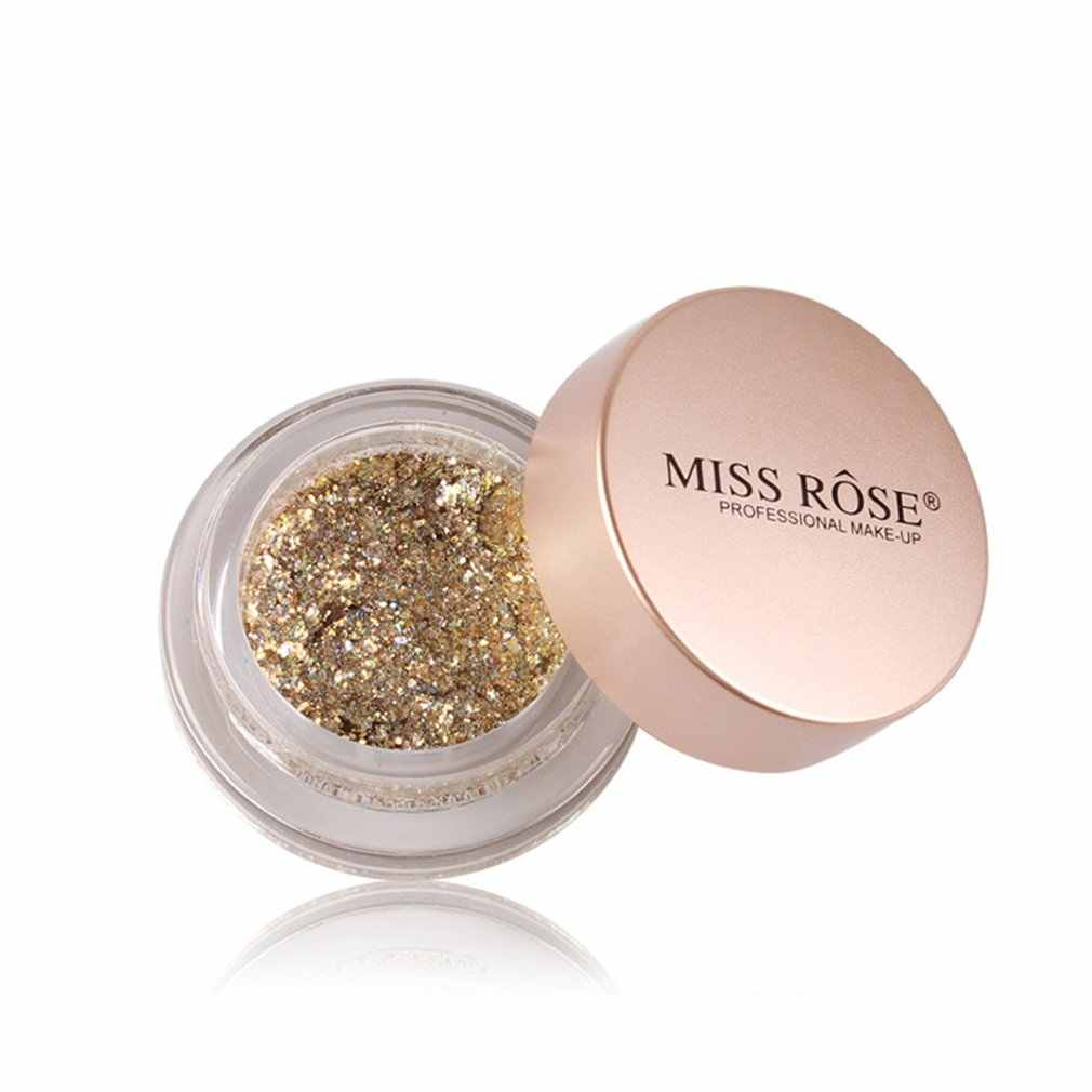 MISS ROSE Oogschaduw Palet Diamond Shimmer Glitter Poeder Oogschaduw Palet Glanzende Lovertjes Oogschaduw Beauty Cosmetische Make-up