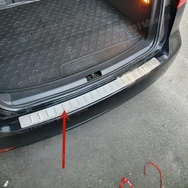 Защита заднего бампера, протектор порога багажника, Накладка для Фольксваген Touran 2003 2004 2005 2006 2007 2008 2009 2010 2011-2015