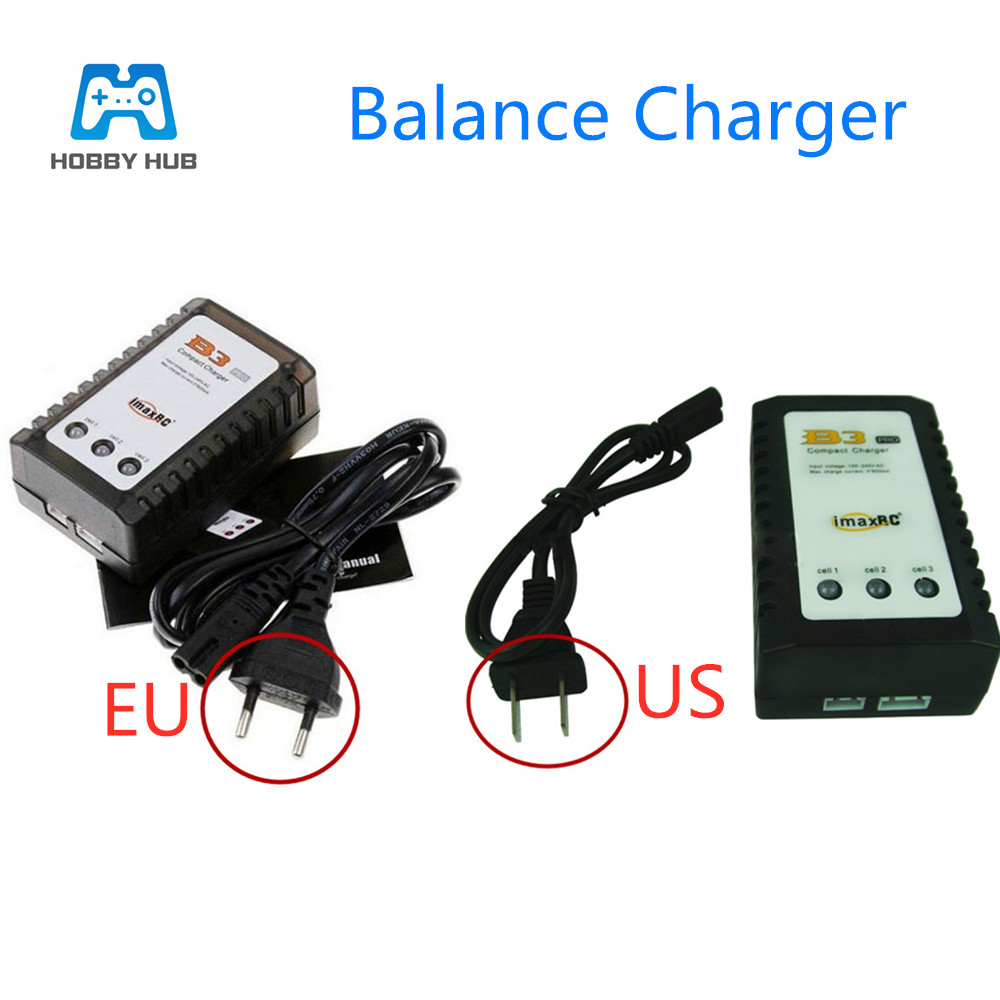 Hobby Hub iMaxRC iMax B3 LiPo Battery Balance Power Charger  RC Helicopter B3AC 2S 3S 7.4V/11.1V charger For Syma RC Helicopter