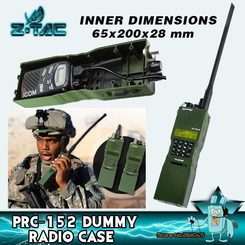 Z-tac mimity PRC-152 manequim da caixa de rádio nenhuma função para baofnig talkie walkie caso um/prc 152 caso de rádio modelo PRC-152