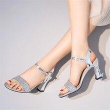 Women Sandals 2020 Summer Shoes Woman Dress Shoes Bling Weddging